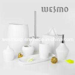 Accessoires de bain en porcelaine Set (WBC0581A)