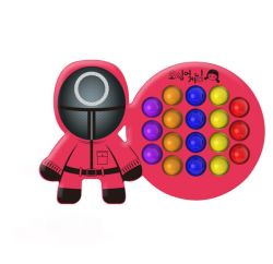 Hotsale Push Bubble fidget Toys Finger New Squid Game Toys 옥토퍼스 푸시 피드get 스피너 지오메트리 장난감(Octopus Push fidget Spinner Geometry Toy