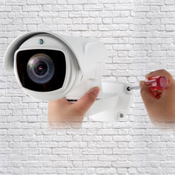 Berufsgewehrkugel PTZ 5 Megapixel IP-Kamera