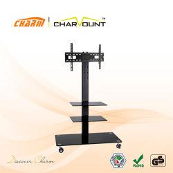 高品質3つの層の緩和されたガラスTVの立場(CT-FTVS-F203B)