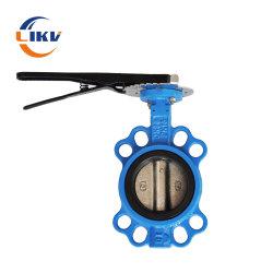 Índice de la válvula reguladora de presión de agua de trampa de vapor de dosificación de 3m de hierro dúctil de equilibrio la regulación de las válvulas de mariposa