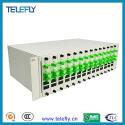 """3U 19"""" волоконно-оптический 1X2 Lgx PLC разветвитель, оптоволоконный патч-панели корпуса для монтажа в стойку разветвитель, Optique разветвителя"""