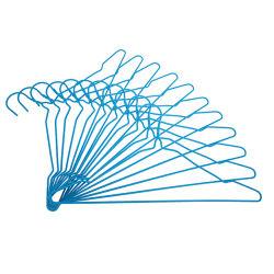 Eco-vriendelijke wasdraad hangers voor droge reiniging goedkoop metaal PVC Droogrek met coating