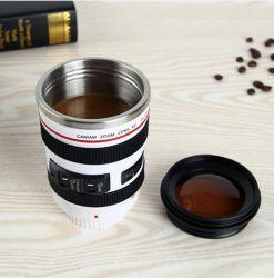400ml Stinless Steel Camera Lence Becher Lens Becher für Kaffee