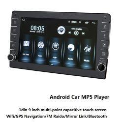 """1DIN des Android-9 """" Multimedia-Spieler des Autoradio-MP5 mit Video-Audiosystems-Auto-Armaturenbrett-Spieler"""