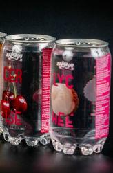 350ml sabor a fruta pode Pet de refrigerantes drinque/ Soda /água gaseificada