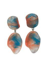 Risultati dell'orecchino delle signore della resina degli accessori dei monili di modo