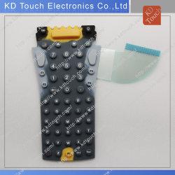 Interrupteur à membrane avec boutons en caoutchouc de silicone en plastique