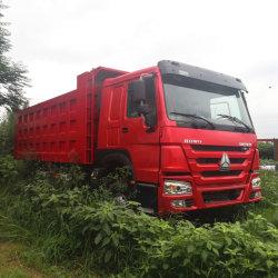 중국 저가 중부하 작업 사용/뉴 시노트루크 HOWO 371/375HP 6X4 Euro2 10륜/타이어 샌드 로리 카고 덤퍼 티퍼 팁핑 중고 덤프입니다 아프리카 시장을 위한 트럭