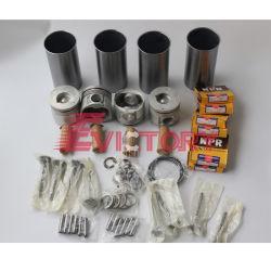 Isuzu 4BG1 4BG1-Tc moteur 4BG1T Reconstruire Kit roulement de joint de chemise de segment de piston