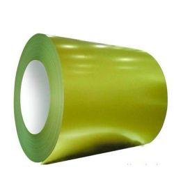 precio de fábrica de Color Verde Pre Hoja de Acero galvanizado recubierto PPGI en bobina