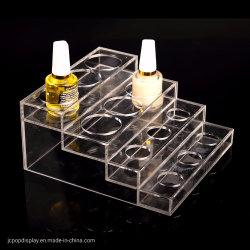 De acryl Kosmetische Countertop TegenVertoning van de Make-up van de Vertoning Acryl