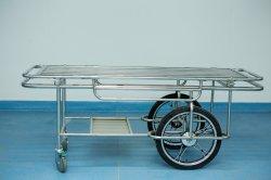 El transporte de pacientes del Hospital de aleación de aluminio de acero inoxidable camilla hidráulica de la cama para situaciones de emergencia