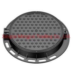 Potência de esgoto da alimentação de fábrica ronda de ferro dúctil tampa de esgoto Telecom Pt124 C250 D400