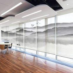 L'impression numérique UV personnalisée à l'intérieur de la gaze translucide transparent