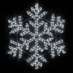 Fabrik-Preis IP65 imprägniern 2D Schneeflocke-im Freienweihnachtsstraßen-Motiv