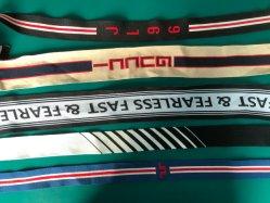 Goedkope Custom Garment Knit Woven Jacquard Ribbon Webbing