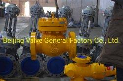 الصمام الكروي الهيدروليكي الهوائي من الفئة 900 من الفئة 900، والذي يحتوي على نسبة كبريت تتراوح بين 15% و20% تقريبًا في الغاز الطبيعي