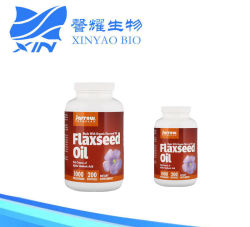 Las fórmulas de Jarrow Aceite de Semilla de Lino orgánico Softgel 1000mg 200 Cápsulas de ácido linolénico