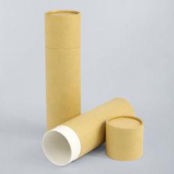 Firstsail Cosmetic Bottle Kraft Craft tubo de Empaque biodegradable cilindro Caja para regalo Inciense Stick Umbrella Vacuum Cup