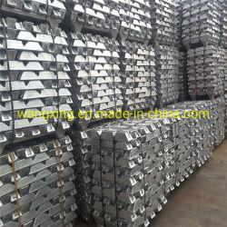 Lingote de aleación de zinc Zamak 2### 3 5 estándar/Zinc Zinc lingote lingotes de 99,995%