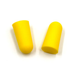 Meilleur Prix Bouchons d'oreille jetables jaune embouts en mousse PU