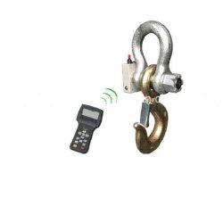 Prueba de carga de la célula de carga de dinamómetro con indicador de control remoto