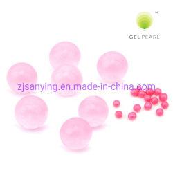 اللون الوردي الزهور الخرز فانز ملء كاندل حامل الديكور الخرز