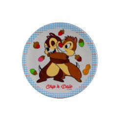 Les petits enfants la plaque de mélamine 6 pouces au Japon la plaque de cookie de classe alimentaire