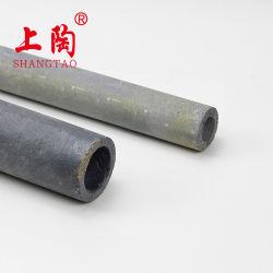 El tubo de Sic de precisión de la sinterización de carburo de silicio tubo refractarios