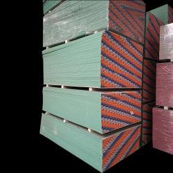 Absorción de sonido de panel de yeso placas de yeso de fibra de vidrio
