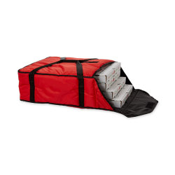 Изолированный алюминиевый тепловой красный большой емкости пицца доставку продовольствия транспортный пакет держать температуры нагрева холодного сохранения складная сохранения принять пикник на открытом воздухе