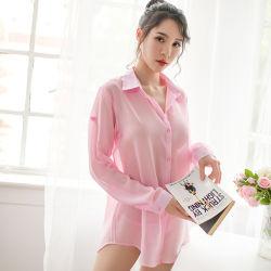 Dun Overhemd, Chiffon, Sexy Ondergoed, de Eenvormige, Verleidelijke Kleding van Vrouwen, het Kostuum van de Pyjama