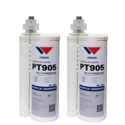 Secubond PT805 Noir 12mins adhésif méthacrylate 50ml