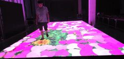 Système de radar P4.81/P6.25 écran vidéo HD portable d'affichage carrelage de sol DJ de l'éclairage plancher de danse à LED