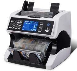 화폐 통화 은행 노트 현금 청구서 카운터 소터 검출기 화폐 카운트 은행 장비 감지 중 정렬