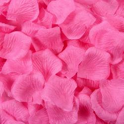 Silk Rose-Blumen-Blumenblätter für Hochzeits-Dekoration