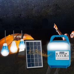 새로운 태양열 발전 소형 시스템 Yituo4 태양열 지능형 조명 FM 라디오 Bluetooth MP3 플레이어