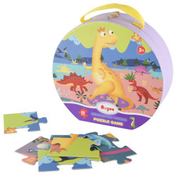 Custom High Quality Paper Puzzle Educational Toys FSC Certified Jigsaw Puzzel
