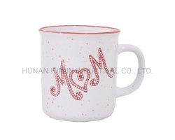 Regalo di ceramica della tazza della tazza del gres di disegno di giorno della madre