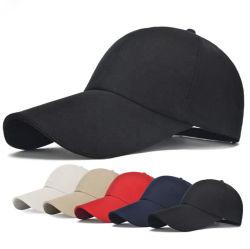 カスタム男女兼用のゴルフ帽子はロゴの綿の野球帽を刺繍した