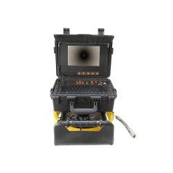 Sistema compatto della macchina fotografica di controllo del tubo per controllo dello scolo del condotto della fogna ed il lavoro dell'impianto idraulico