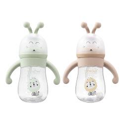 BPAはカラーわらの幼児びんの子供の水差しの母感じの変更の最下の赤ん坊の送り装置のびんが付いているPPの赤ん坊の挿入のびん赤ん坊の製品を放す