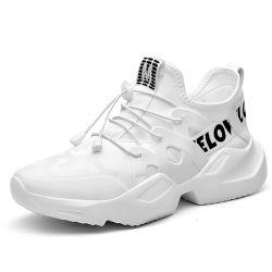 La mens alta moda Sneakers suela transpirable Cojín de aire cómodo e informal zapatillas zapatillas de baloncesto