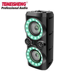 Sonido de caja de altavoz Bluetooth DJ con altavoz inalámbrico fiesta karaoke