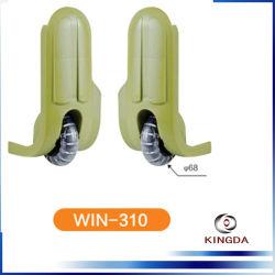 Kingda Alibabaの熱い販売の取り外し可能な荷物のアクセサリのプラスチックスーツケースの足車の車輪