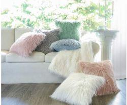 Strand-Wolle-Plüsch-Kissen-Büro-Sofa-Kissen-Deckel Suppplier