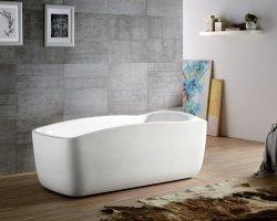 Chaud de la vente de la conception normale de l'acrylique baignoire de massage pour des hôtels cinq étoiles