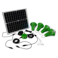2021 La Energía Solar LED de iluminación del hogar de la luz solar Luz Sos/Sistema Solar con 52LÁMPARA DE LED/Global de las luces del amanecer