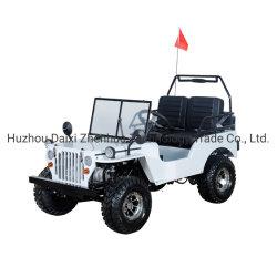 110cc de gasolina de nuevo tipo Mini ATV en blanco